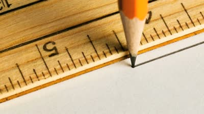 stock-footage-pencil-drawing-a-straight-line-with-a-ruler