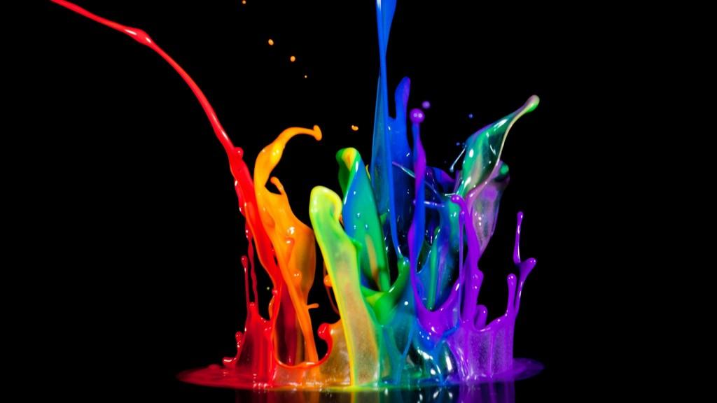 Spilled-Paints-Wallpaper