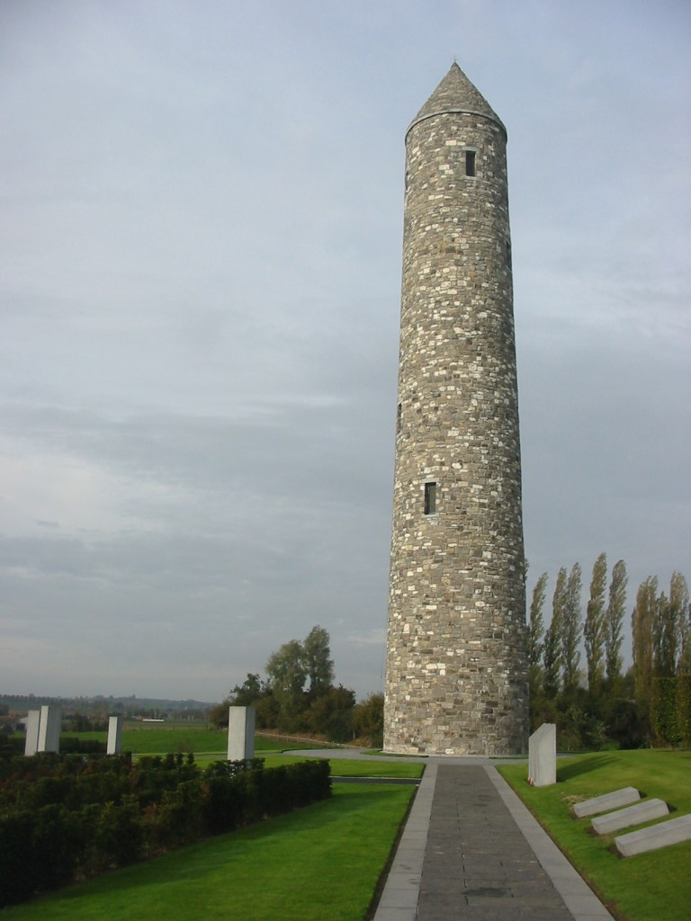 Tower,_Irish_Peace_Park,_Mesen,_Belgium