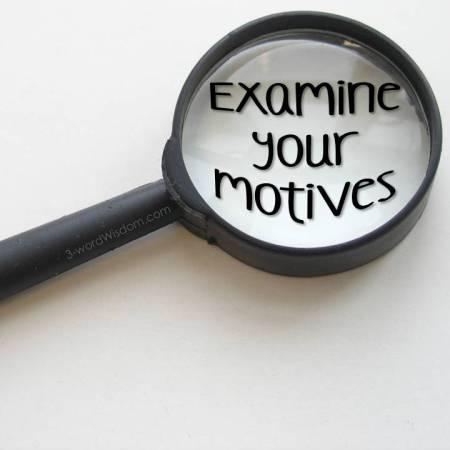 examine-your-motives